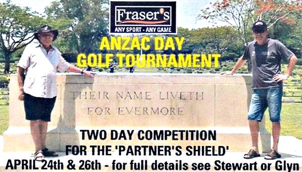 Frasers Golf Tournament